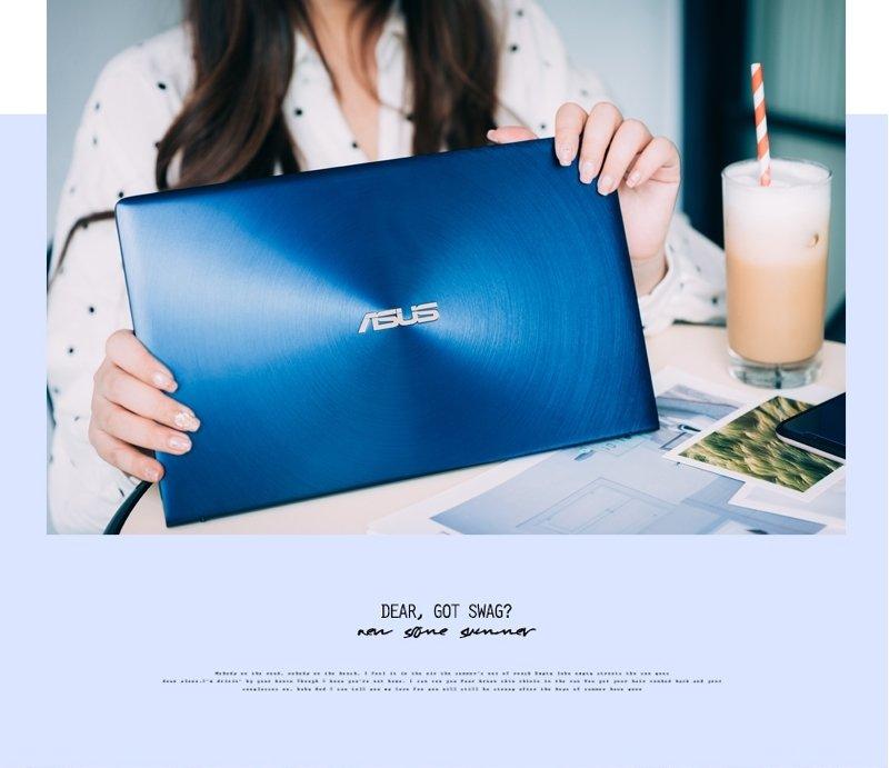 3C ♥ 時尚SOHO女孩的筆電首選→輕薄質感x美力無邊 ASUS ZenBook 13 ♫