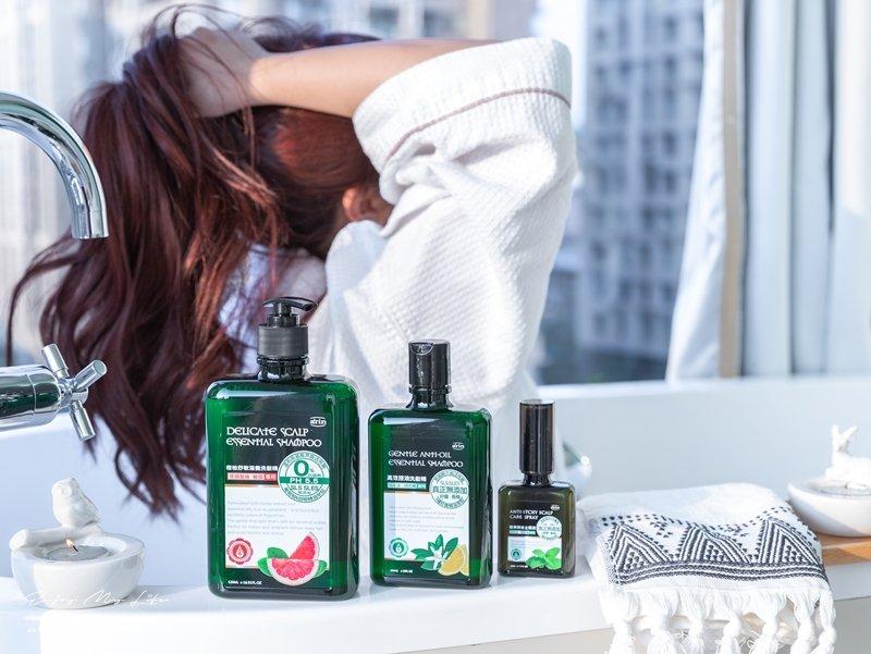 美髮 ♥ arin氧潤 森系列無矽靈純精油洗髮精 x 酷樂頭皮保養液。徹底終結換季頭皮困擾 ♫