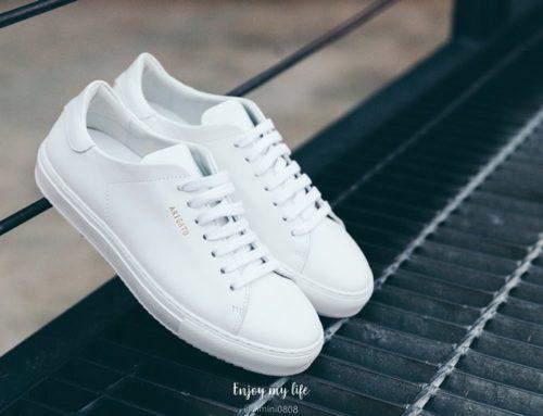 開箱 ♥ 英國時尚精品購物網Coggles。教學攻略/折扣優惠/開箱分享→AXEL ARIGATO Clean 90 經典小白鞋 ♫