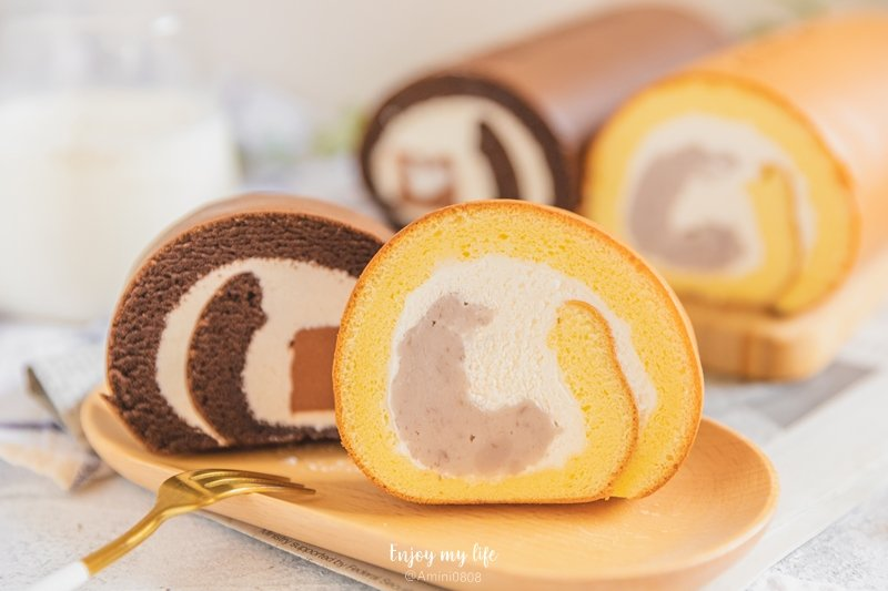 美食 ♥ 亞尼克北投石牌店新開幕。必買限定→鮮芋奶霜生乳捲+巧克力雪糕生乳捲 ♫