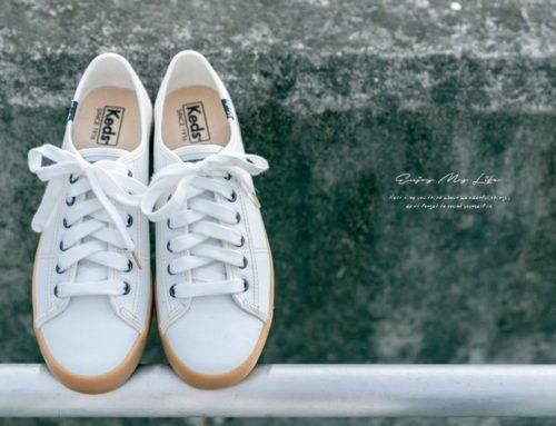 穿搭 ♥ 經典不敗超百搭小白鞋穿搭。Keds KICKSTART 韓國設計款帆布鞋 #MadeForWomen ♫