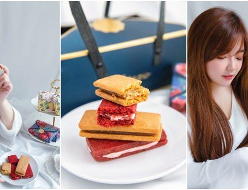 美食 ♥ Jezeto Café 法式花果酥禮盒→法式鳳梨酥 X 法式玫瑰酥。甜蜜午茶/夢幻甜點/宅配團購美食推薦 ♫