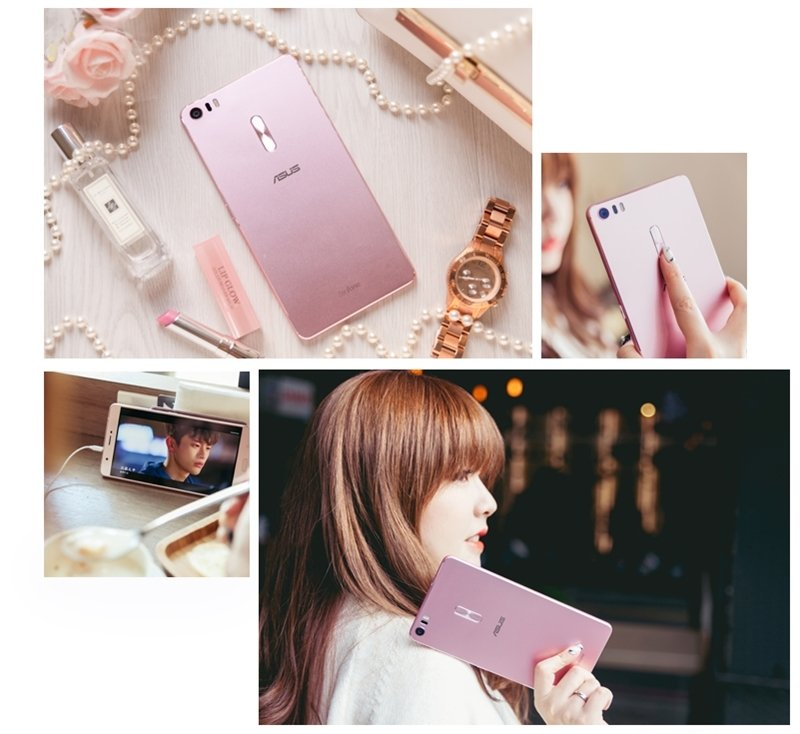 3C ♥ 時尚追劇x美型耀眼 讓人愛不釋手的玫瑰金6.8吋大螢幕手機。ASUS ZenFone 3 Ultra (ZU680KL) ♫