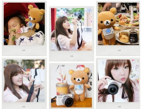 3C ♥ 我和拉拉熊的夏日小旅行 x Canon EOS M10 ♫