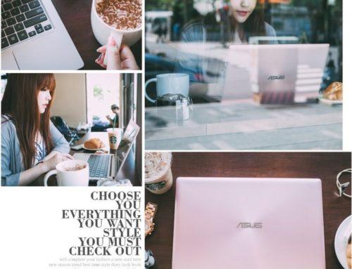 3C ♥ 時尚女孩生活必備。ASUS ZenBook UX303UB玫瑰金 13.3吋輕薄高效筆電 ♫