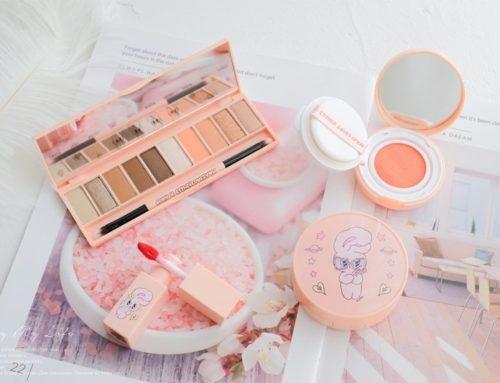 彩妝 ♥ IPKN x ESTHERLOVESYOU聯名。粉紅兔寶寶系列萌萌彩妝 ♫