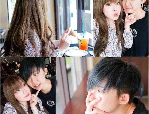 美髮 ♥ 為盛夏帶來一抹清爽涼意。我們的情侶新髮色 80's STUDIO Ian ♫
